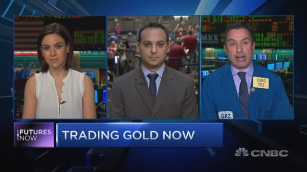 GS: Time to sell gold