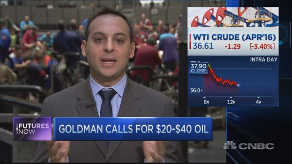 Goldman says oil will stay low