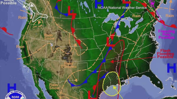 Severe weather rages through the South