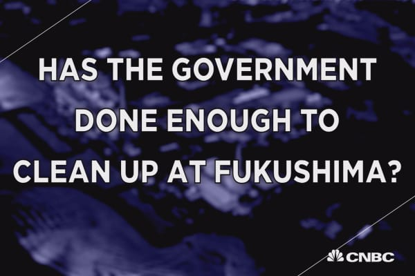 Fukushima clean-up could take 40 years