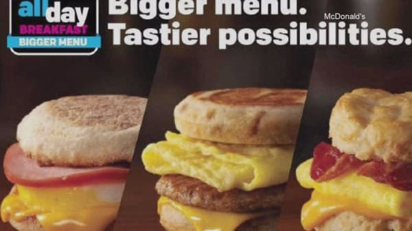 McDonald's testing a bigger all-day breakfast menu