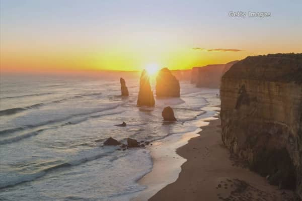 Scientists find 'drowned apostles' in Australia