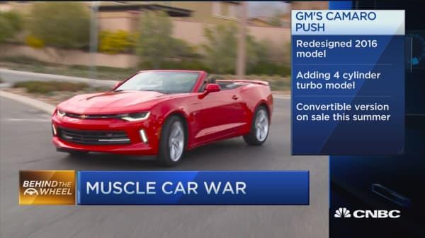 Camaro redesigns muscle car