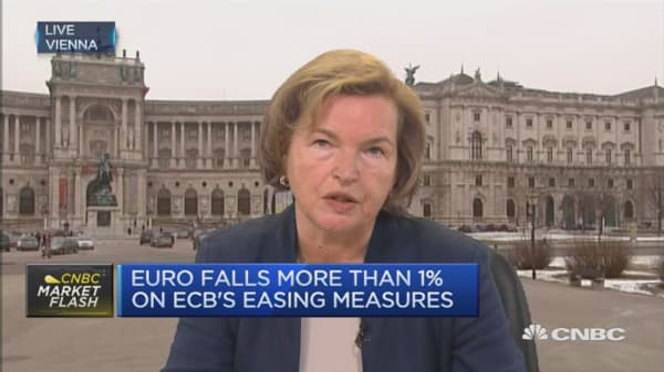 The ECB can't achieve everything: Gertrude Tumpel-Gugerell