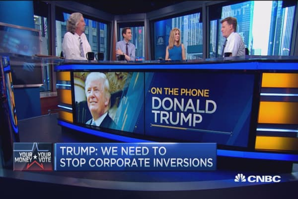 Donald Trump: I've always been a 'unifier'