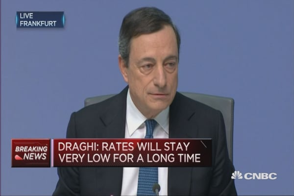 Rates will stay low for very long time: ECB