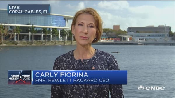 Why I support Ted Cruz: Carly Fiorina