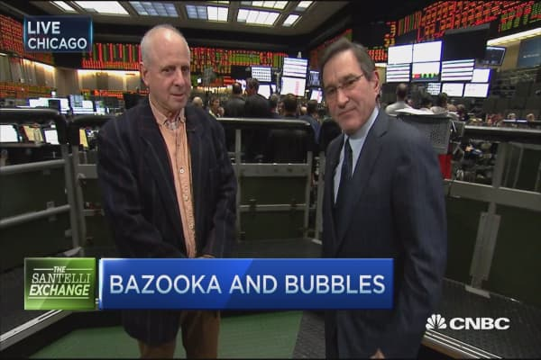 Santelli Exchange: Bazooka and bubbles