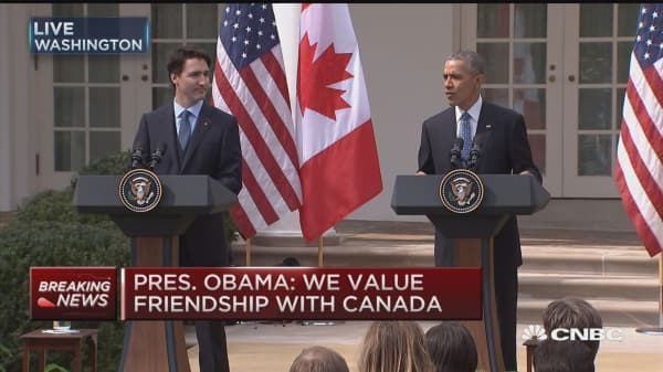 Pres. Obama: We value our friendship with Canada