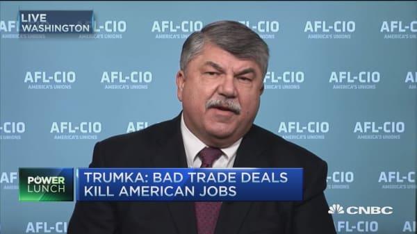 AFL-CIO & Trump's common enemy