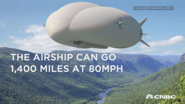 Lockheed Martin's strange new airship