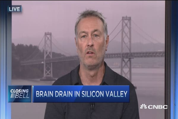 Brain drain in Silicon Valley
