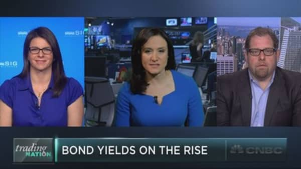 Bond yields on the rise