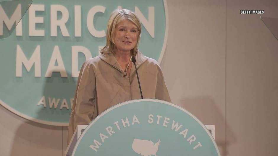 Martha Stewart's secrets to success
