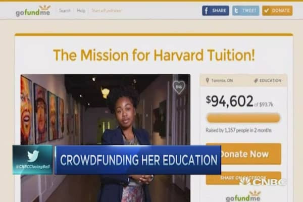 Homeless to Harvard: Crowdfunding education