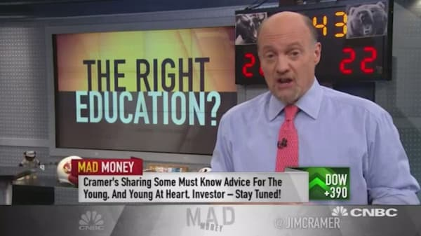 Cramer: 3 lessons for young investors