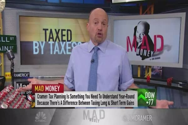 Cramer: Best way to handle taxes