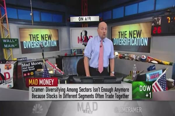 Cramer: My new way to diversify your portfolio
