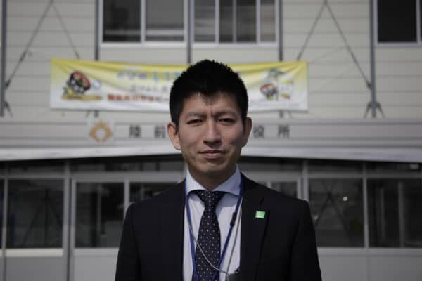 Takanori Obayashi moved from Tanzania to help rebuild Rikuzentakata, a town he fell in love with as a student.