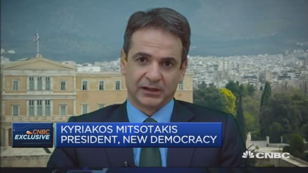 Greece's opposition leader on the migrant crisis
