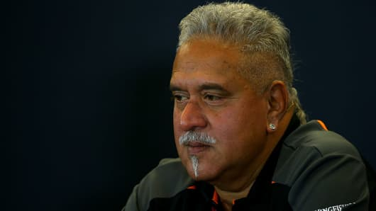 Vijay Mallya, chairman of UB Group.