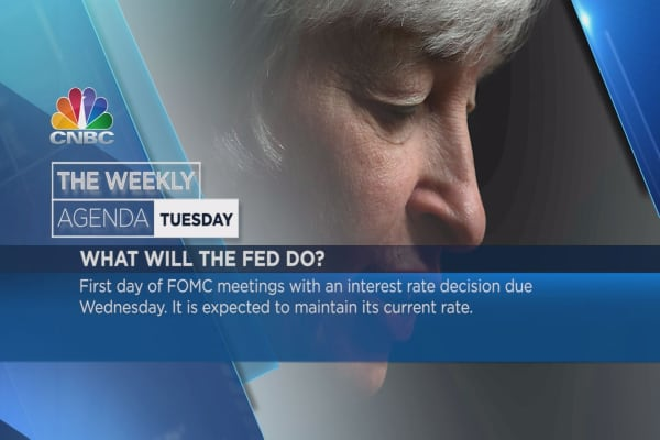 Weekly agenda:  Angela Merkel, FED, iPhone SE