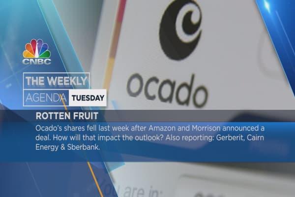 Weekly agenda earnings: Ocado, Eurowings , Lukoil