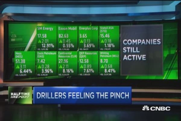 Drillers feeling the pinch