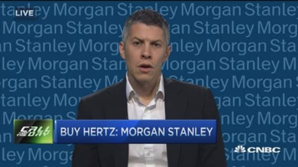 Buy Hertz: Morgan Stanley
