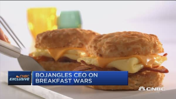 Bojangles CEO: We welcome the all-day breakfast competition