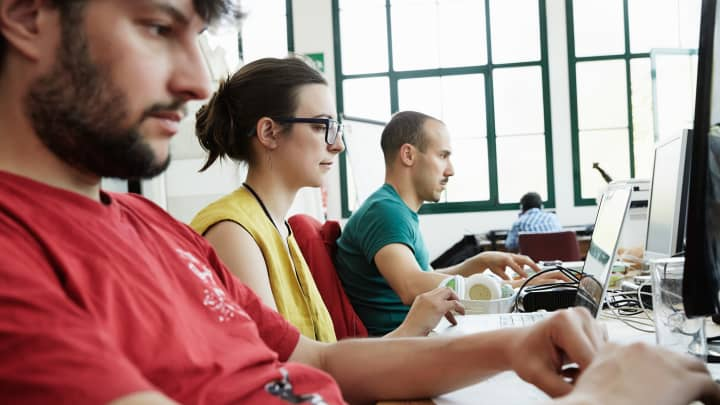 computer programmers coding millennials