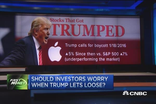 Trump takes aim at Apple, Oreos & Starbucks
