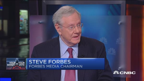 Must beat Trump with substance: Steve Forbes