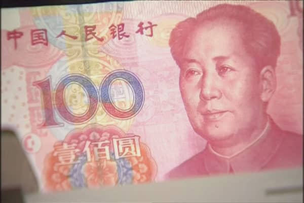 Goldman Sachs says Chinese yuan may weaken