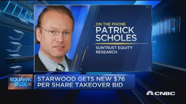 Starwood gets $76 per share  bid