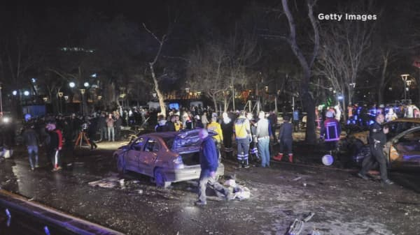 Another car bombing in Ankara, Turkey