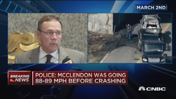 Police: McClendon was not wearing seat belt