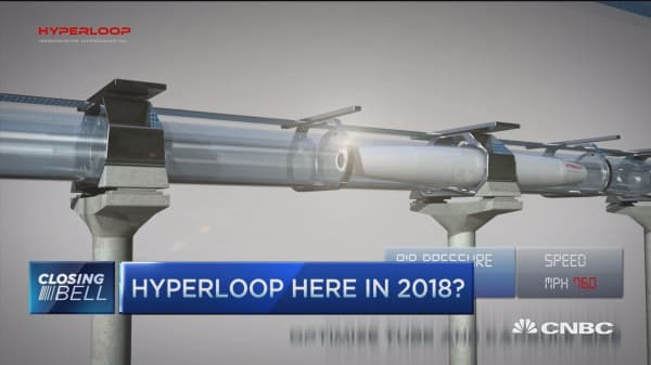 Get to San Francisco in 760 MPH with hyperloop?