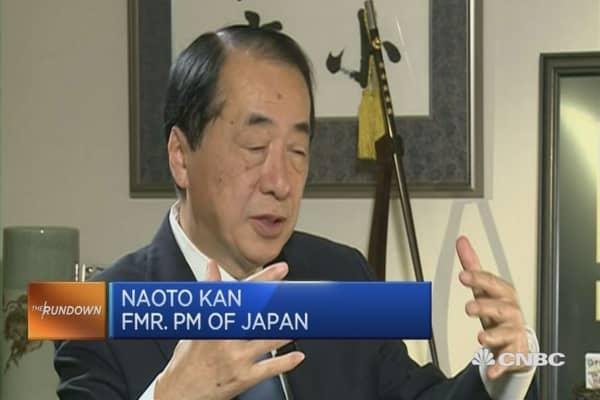 Naoto Kan : BOJ rates