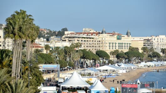 Cannes, where the MIPIM conference is taking place.