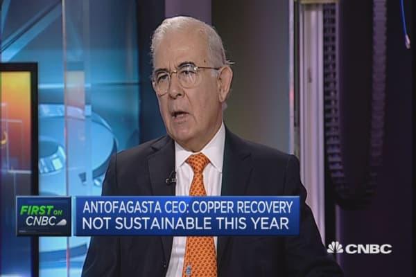 Copper demand will grow: Antofagasta CEO