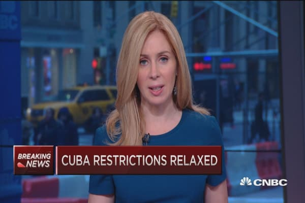US relaxes Cuba restrictions