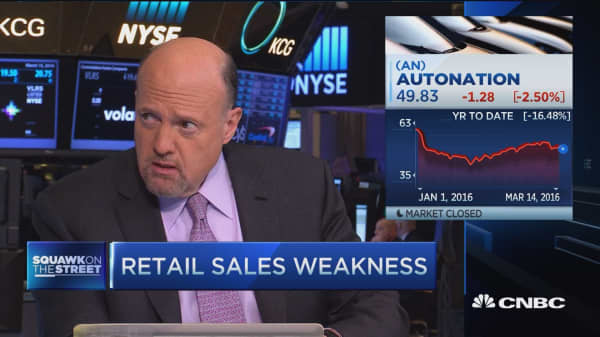 Retail sales weakness