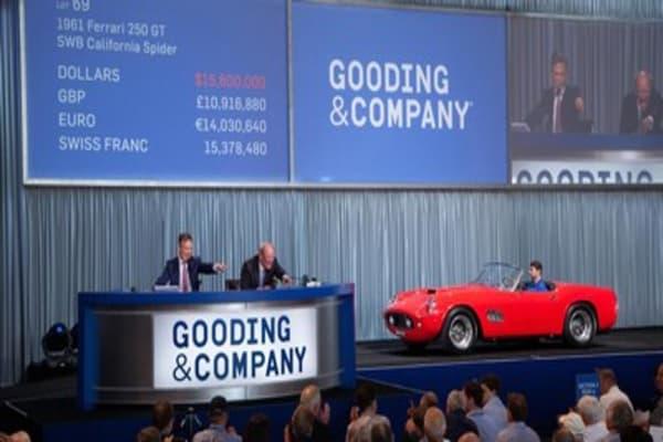 1961 Ferrari Fetches $17M