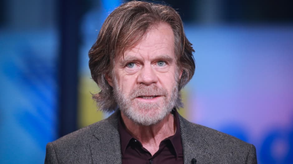 Actor William H. Macy.