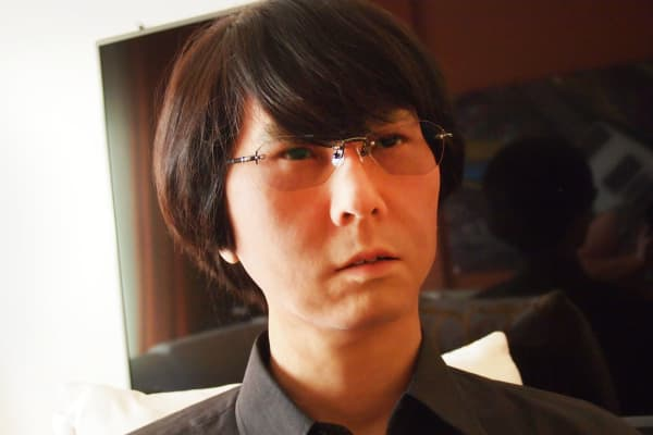 The Geminoid, created by Hiroshi Ishiguro to look like its creator
