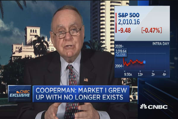 cooperman on HFT