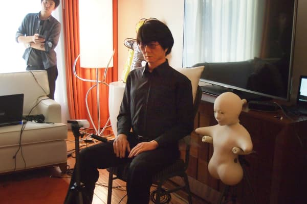 Hiroshi Ishiguro Laboratories is creating a whole line of robots for different functions.