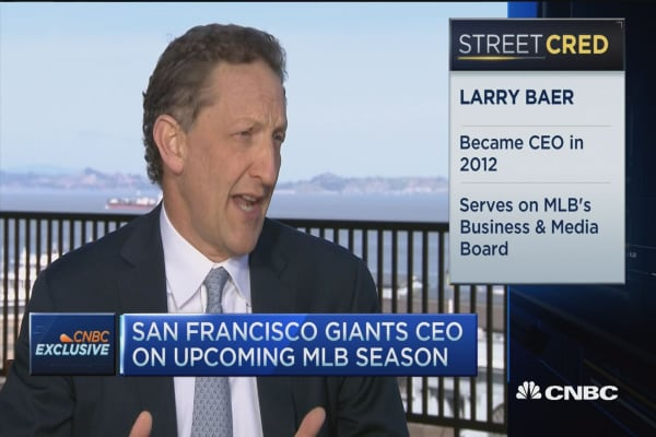The future of baseball as told by Larry Baer
