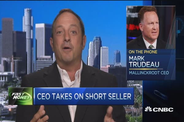 Mallinckrodt makes Valeant look like choir boys: Citron Research